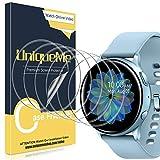 UniqueMe [6 Stück] Schutzfolie für Samsung Galaxy Watch Active 2 44mm Bildschirmschutz, Blasenfrei, TPU flexibel für 44mm Samsung Watch [Blasenfreie] [Anti-Kratzer] Bildschirmschutzfolie