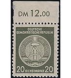 Goldhahn DDR Dienstmarke Nr. 22 xI XI postfrisch ** Fotobefund Paul Briefmarken für Sammler