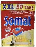 Somat Spülmaschinen-Tabs 12 Gold, Multi-Aktiv, Extra-Kraft gegen Eingebranntes, Glanz-Effekt, 150...