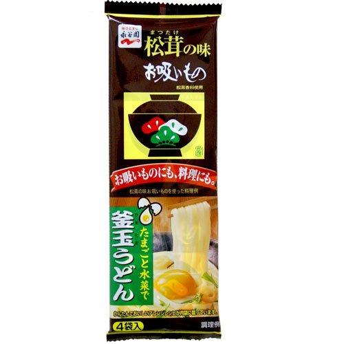 永谷園 松茸の味お吸いもの4袋入り 12g×5個セット 【お吸い物 吸い物 お餅 松茸 マツタケ うどん】