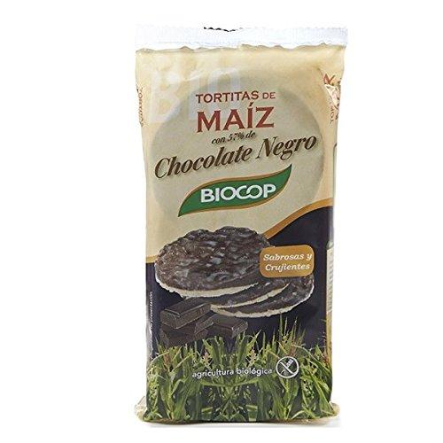 Biocop Tortitas de Maiz con Chocolate Negro - 95 gr