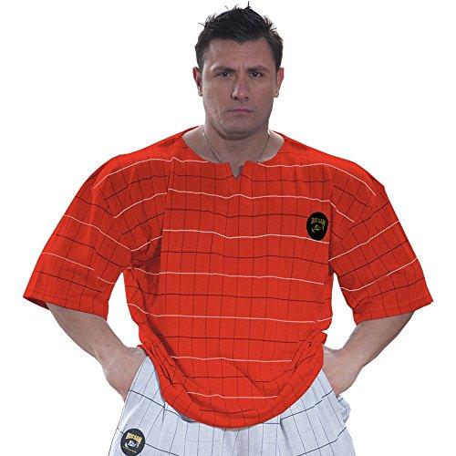 BIG SM EXTREME SPORTSWEAR Herren Ragtop Rag Top Sweater T-Shirt Bodybuilding 3203 rot XXL