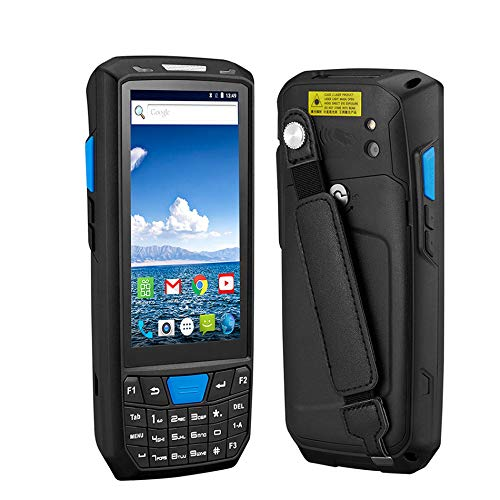TQ Android 8.0 PDA Robuste Terminal Portable PDA Data Collector Warehouse 1D 2D QR Barcode Scanner Support OTG 4G PDA Terminal,Withoutscanner2g16g