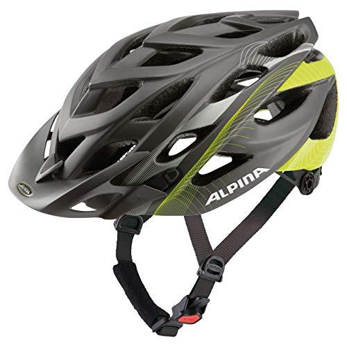 Alpina Sports Unisex– Erwachsene D-ALTO Radhelm, mehrfarbig, 52-57