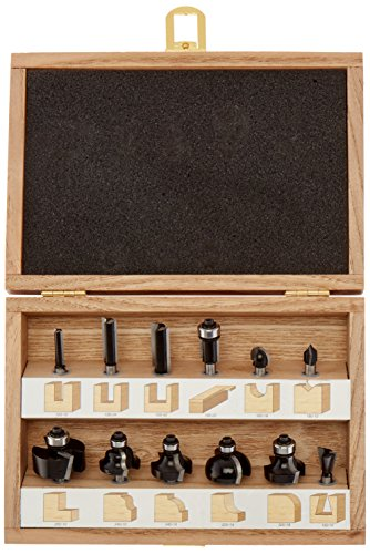 12 piece router bit set - 9