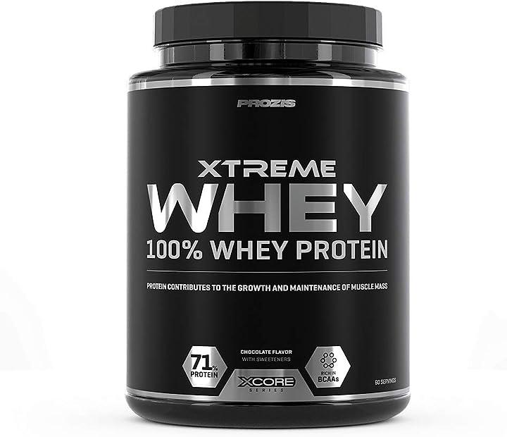 Xtreme whey protein ss proteina, cioccolato - 2000 g  prozis NUT00/1326620002