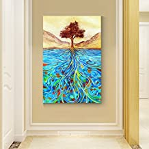 Paintsh What Makes The Entrance Of Decorative Painting Murals Aisle Vertical Version Of American Elk Wall Paintings Living...
