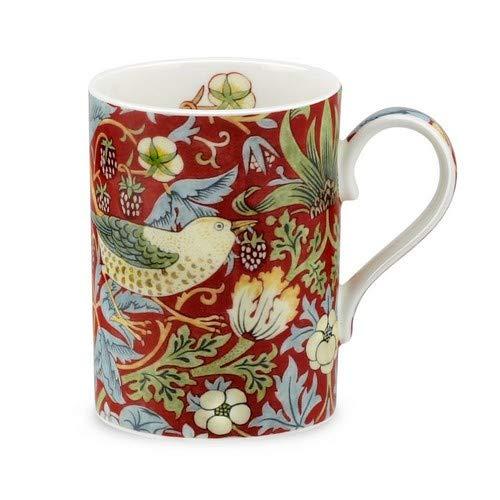Portmeirion Strawberry Thief Mug, 0.35L Red (0.35l Mugs)