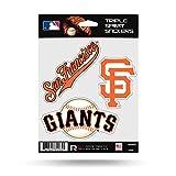 Rico Industries San Francisco Giants Triple Sticker Multi Decal Spirit Sheet Auto Home Baseball