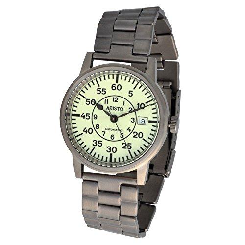 Aristo Orologio da polso unisex U-Boot orologio automatico titanio 5H92TIB