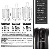 Zoom IMG-1 coolife valigetta rigida con ruote
