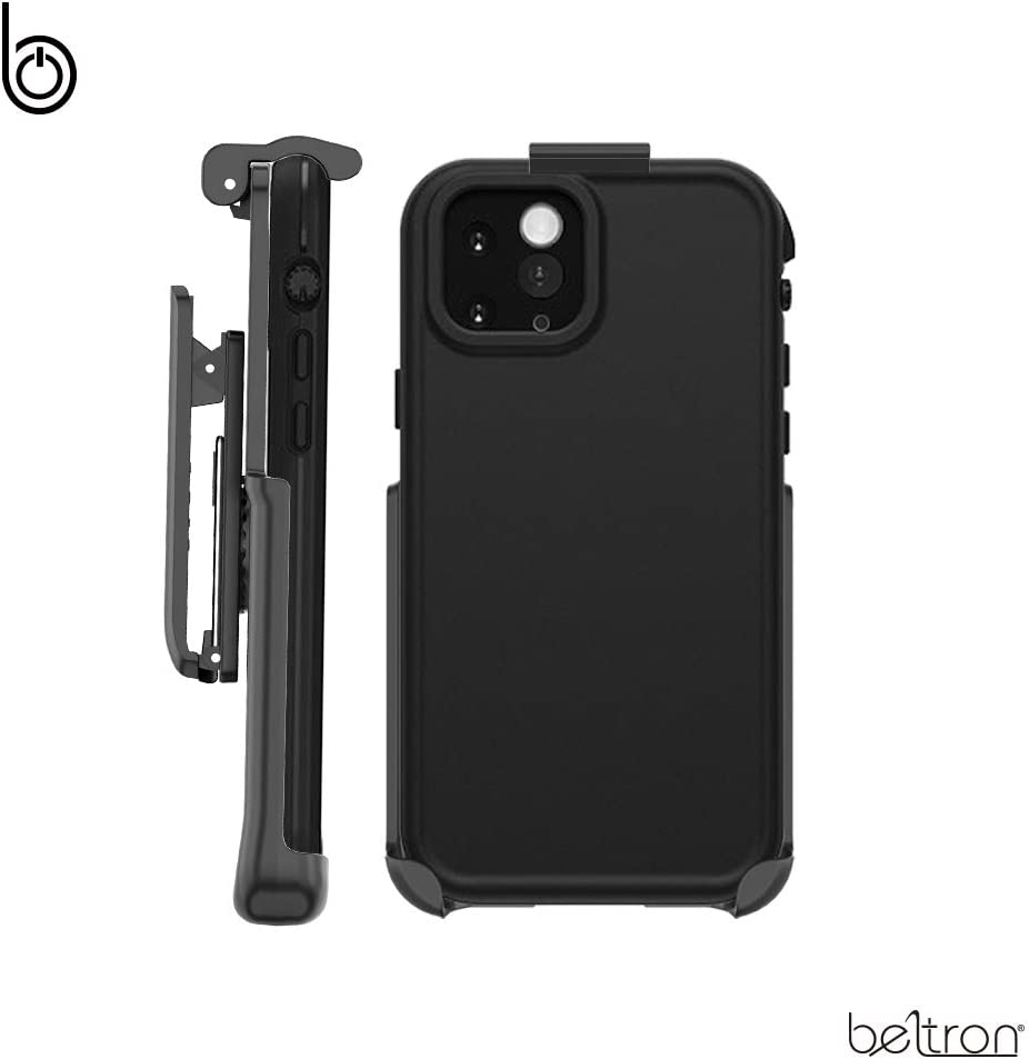 BELTRON Belt Clip Compatible with Lifeproof FRE iPhone 11 Pro (Holster ONLY, case is NOT Included) Features: Secure Fit, Quick Release Latch, Durable Rotating Belt Clip & Built-in Kickstand