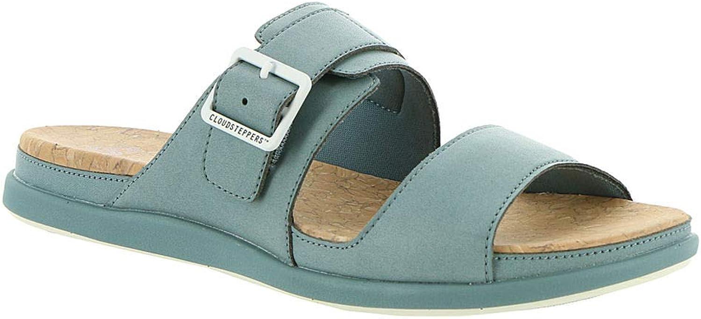 CLARKS Step June Tide damen 39;s Sandal Sandal 7 B(M) US Blau-grau