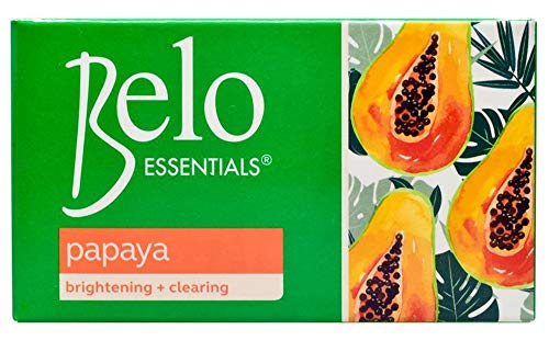 Belo Essentials Papaya Brightening and Clearing Soap