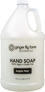 Ginger Lily Farms Botanicals All-Purpose Apple Pear Hand Soap, 1 Gallon