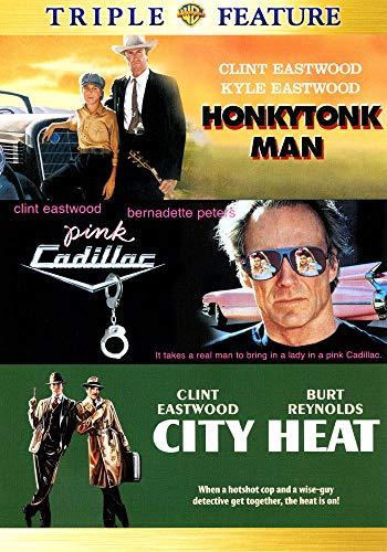 Honkytonk Man / Pink Cadillac / City Heat - Clint Eastwood [3x DVD]
