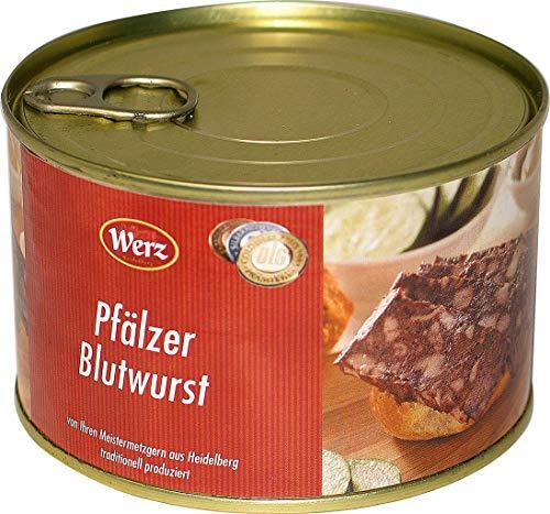 Hausmacher Dosenwurst Pfälzer Blutwurst 400g MHD:2/20
