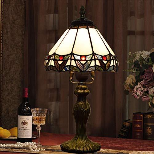 AWCVB Lámpara De Mesa Tiffany Lámpara De Noche