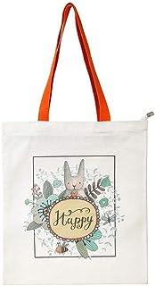 Meigold Handtasche mit Reißverschluss aus Segeltuch für Damen und Herren