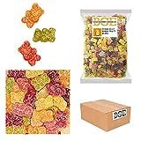 Bulk Gourmet Emporium - Ositos de goma de fruta con picapica, producto vegano, halal y sin envase de plástico, 2 kg