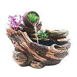 xilinshop Fengshui Fuente Fuente de Escritorio Creativa Decoración de Escritorio Interior La Fuente de Interior Puede Cultivar Flores y Plantas Indoor Tabletop Water Fountain
