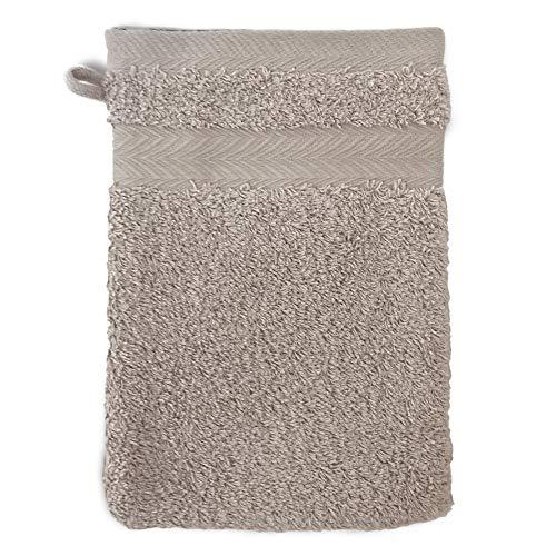 Linnea Gant de Toilette 16x21 cm Royal Cresent Gris Souris 650 g/m2