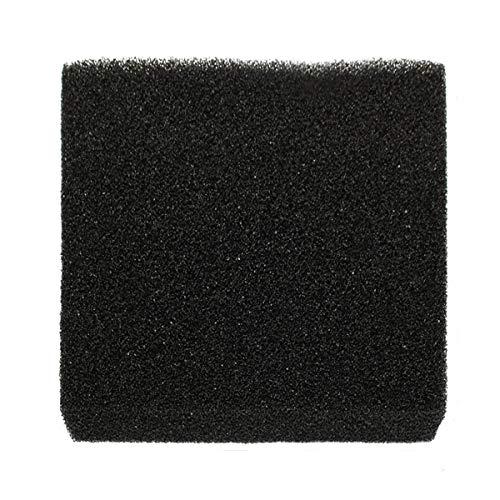 1 Stks 50x50x5cm Zwart Aquarium Biochemische Katoen Filter Schuim Vis Tank Sponge Pads - Groot gat