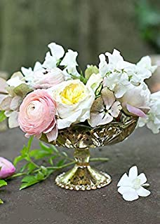 Afloral Special Gold Mercury Glass Carraway Flower Vase