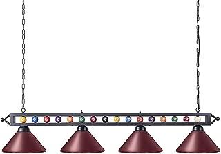 vintage snooker table lights