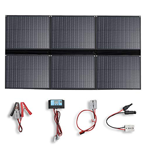 YUANFENGPOWER 300w 12 V Falten Solarpanel Solar Ladegerät 6 x 50w 20v solarmodul mit 30A Laderegler für Boot, Auto, Caravan, Wohnmobil, Camping, 12v Batterie Power Charging (300)