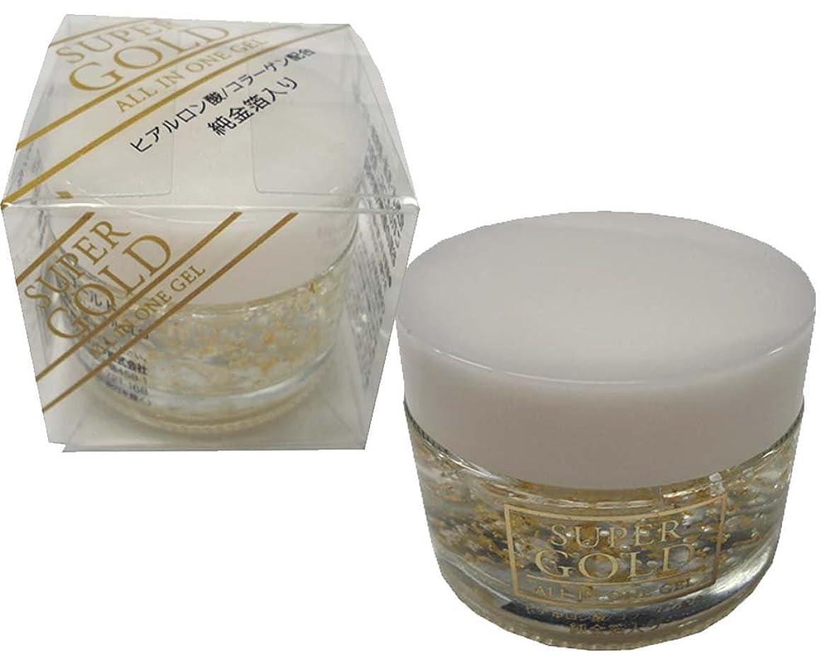 引き受ける古いチョップ日本製 スーパーゴールド 純金箔入 オールインワンジェル GLD 50g スキンケア 化粧水?乳液?クリーム?美容液がこれ1本でOK!