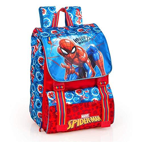 INACIO Zaino Estensibile Spiderman Marvel Scuola Borsa Tempo Libero CM.41x31x20-40412