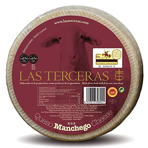 Las Terceras queso manchego semicurado DOP 2600 gr