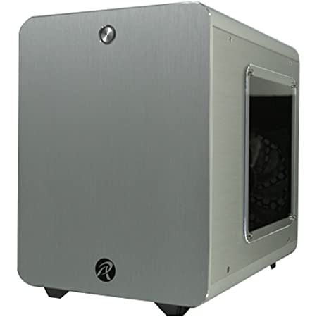 RAIJINTEK METIS PLUSシリーズ キューブ型アルミニウム製Mini-ITXケース 0R200057 (METIS PLUS SILVER)