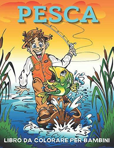 Pesca Libro da colorare per bambini