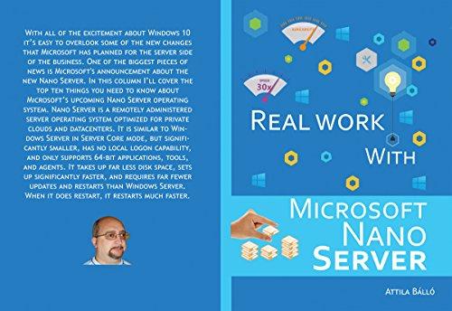 Real work with Microsoft Nano Server (English Edition)