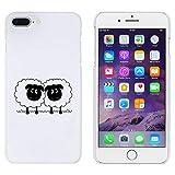 Azeeda Weiß 'Paar Schaf' Hülle für iPhone 7 Plus (MC00130408)