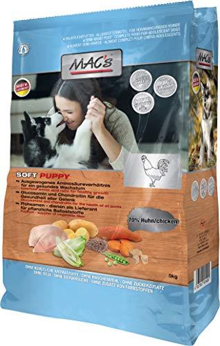 Mac's Soft Puppy Huhn, 3er Pack (3 x 5 kg)