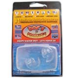 Doc's Proplugs Vented Ear Plug Clear No Leash Size Large