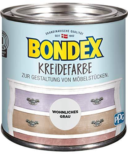 Bondex Kreidefarbe Wohnliches Grau - 0,5L - 386525