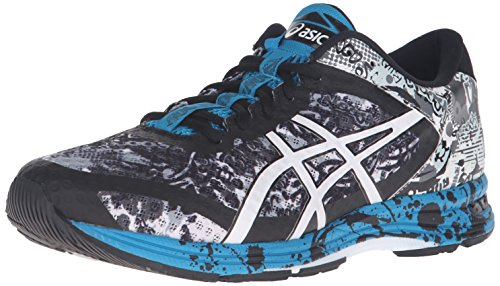 ASICS Men's Gel-Noosa Tri 11 Running Shoe, Mid Grey/White/Blue Jewel, 10.5 M US