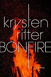Book cover of Bonfire by Krysten Ritter.