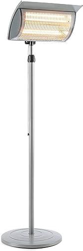 Blumfeldt Heat Guard Focus - Chauffage de terrasse , Chauffage Infrarouge , IR ComfortHeat , 1000 ou 2000 W , Easy Co...