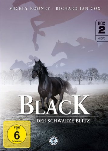 Black, der schwarze Blitz - Box 2 [4 DVDs]
