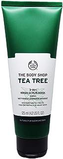 the body shop tea tree 3-in-1 wash scrub Mask 125ml