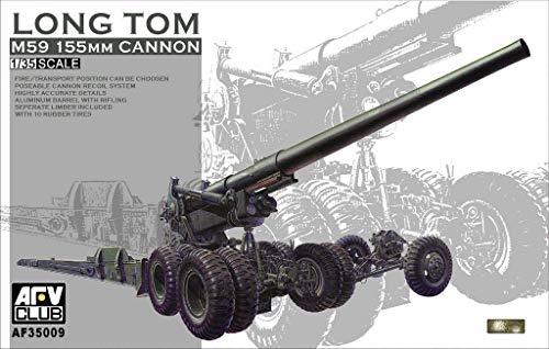M-59 155mm Cannon Long Tom 1-35 AFV Club