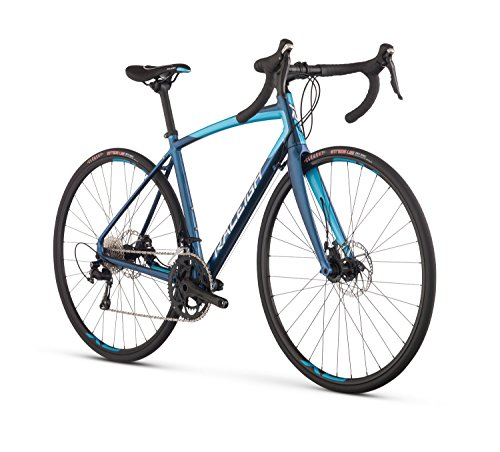 Raleigh Bikes Women's Revere 3 Endurance Road Bike, Blue, 52cm/Small