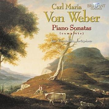 Weber: Piano Sonatas Complete