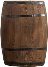 FEIFEI Antiguo puro Barril de Roble Tiesto / caja de la flor decorativa del barril / barril de madera maciza Decoración Exposición boda accesorios for plantas, flores, jardines, terrazas, invernaderos