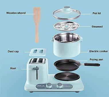 Multifunction Breakfast Machine 3-In-1 Breakfast Machine Bread Machine Toaster Oven Heating Thawing Fried Eggs